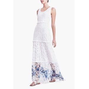 Elie Tahari Adelaide Lace Floral 2016 runway Dress